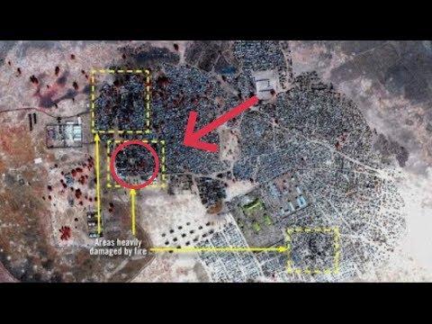 صور أقمار صناعية تكشف هول مجازر -بوكو حرام-