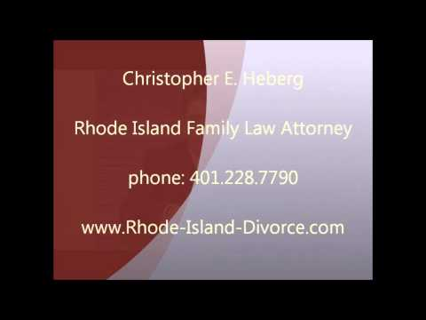 Cranston RI Divorce Attorney - Christopher Heberg
