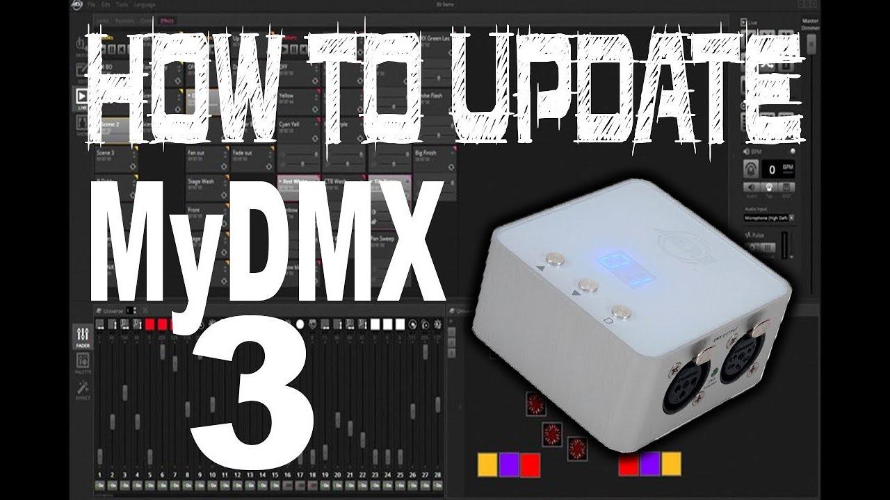 myDMX 3 0 Control Software