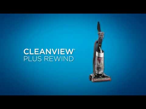 How to use CleanView® Plus Rewind Upright Vacuum | BISSELL