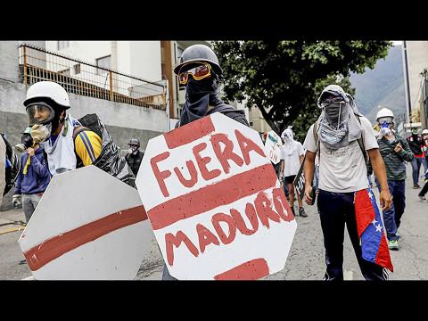 SANGRIENTA REPRESIÓN MARCHA PROTESTA EN VENEZUELA 13 Mayo 2017