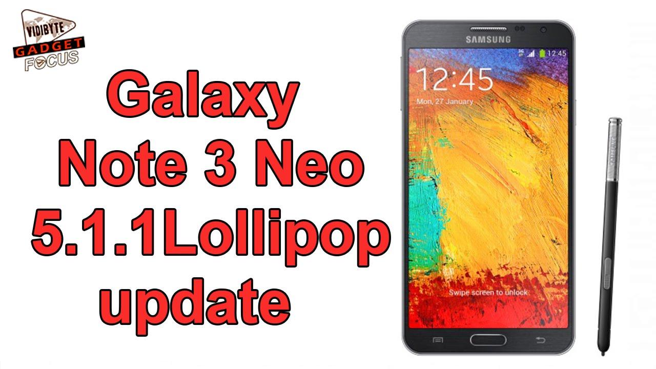 samsung galaxy note 3 neo on Lollipop 5.1.1