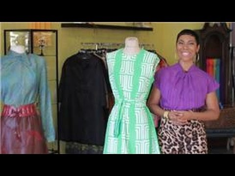 Vintage style what is considered vintage clothing youtube for What is considered antique