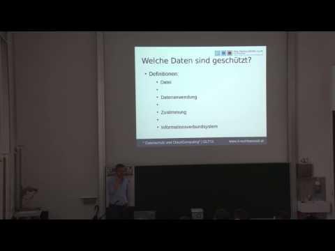 Datenschutz und Cloud-Computing