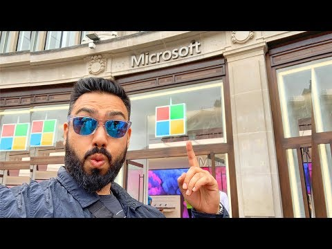 Inside The MICROSOFT Store London