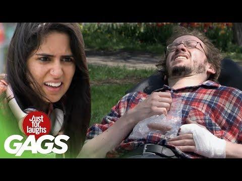 Hungry Dog Eats Man's Finger Whole