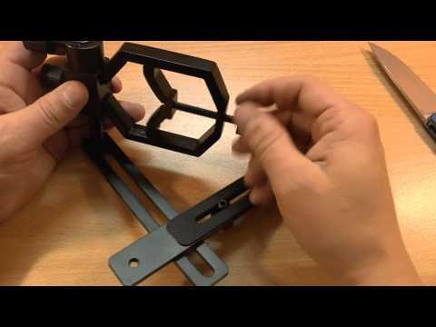 Cara mudah bikin adapter kamera hp di fokuser teleskop instantlooper