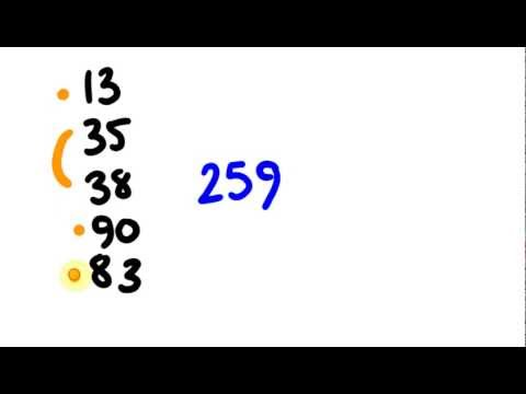 Mental Addition Trick - Add faster than a calculator in your head!