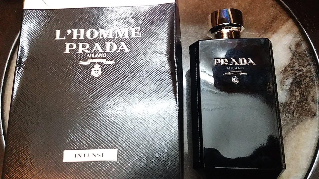 7b7bc6c77af5 Prada L Homme Intense Edp 1st Review (2017) - YouTube