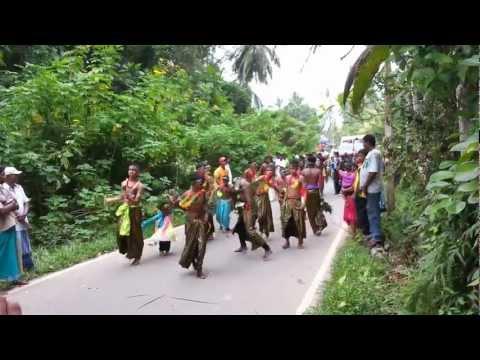 Perahera Festival Parade outside Dalmanuta Gardens, Warapitiya, Sri Lanka 2013-01-15