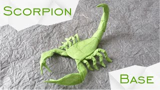 Origami Scorpion by Robert J. Lang (TUTORIAL) Base