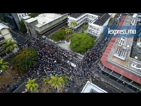 Manifestation à Port-Louis: «On a un gouvernement illégitime»