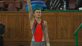 Родион Ганжела победитель чемпионата ДНР по спортивной гимнастике КМС