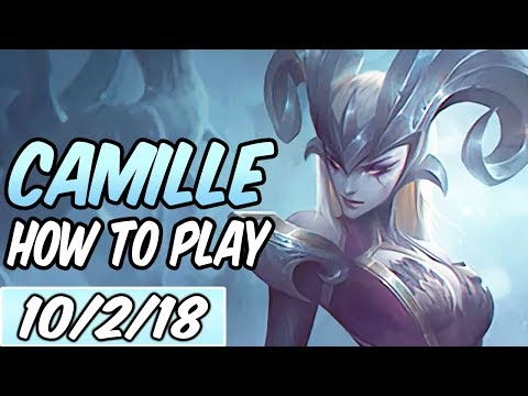 HOW TO PLAY CAMILLE TOP | Build & Runes | Diamond Commentary | League of Legends