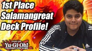 Yu-Gi-Oh! ARG Las Vegas 1st Place Salamangreat Deck Profile! ft. Francisco Alcaraz!