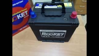 Rocket 65Ah R+ 580A Asia