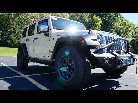 Видео 2012 Jeep Wrangler Sahara Unlimited Видео. Тест драйв 2012 Джип Вранглер СахараТюнинг. Авто из США.