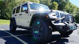 2012 Jeep Wrangler Sahara Unlimited Видео. Тест драйв 2012 Джип Вранглер СахараТюнинг. Авто из США.