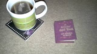 Tea Themed Thursday:  Wiccan Bible