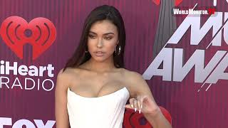 Madison Beer arrives at 2019 iHeartRadio Music Awards Red carpet