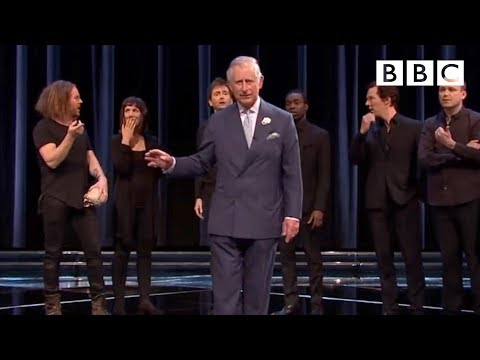 'To be or not to be?' featuring Benedict Cumberbatch & Prince Charles - Shakespeare Live! - BBC