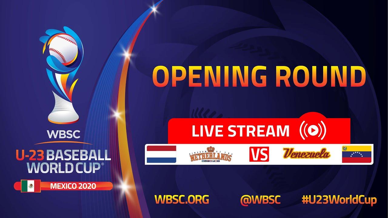 Download Netherlands v Venezuela - U-23 Baseball World Cup Mexico 2020 - Opening Round
