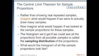 Video Chapter 18: Sampling Distribution Models: Part 1 download MP3, 3GP, MP4, WEBM, AVI, FLV Juni 2018