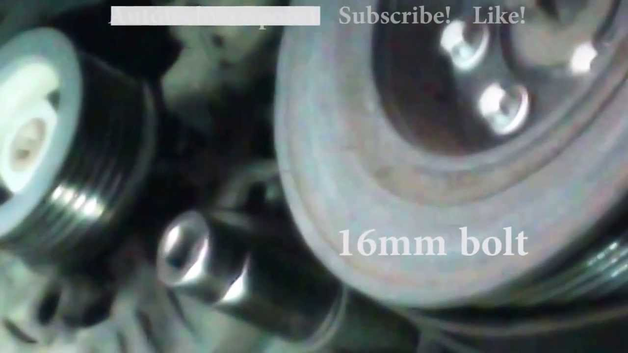 alternator replacement saturn vue 2002 2003 3 0l v6 install remove replace youtube [ 1280 x 720 Pixel ]
