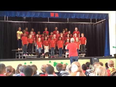 """""""A Peaceful Alleluia"""" by Warren Road Elementary School Chorus"""