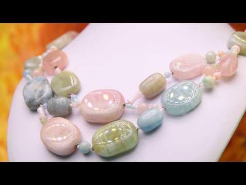 Натуральные камни - Украшение Океания   Диана Савицкая