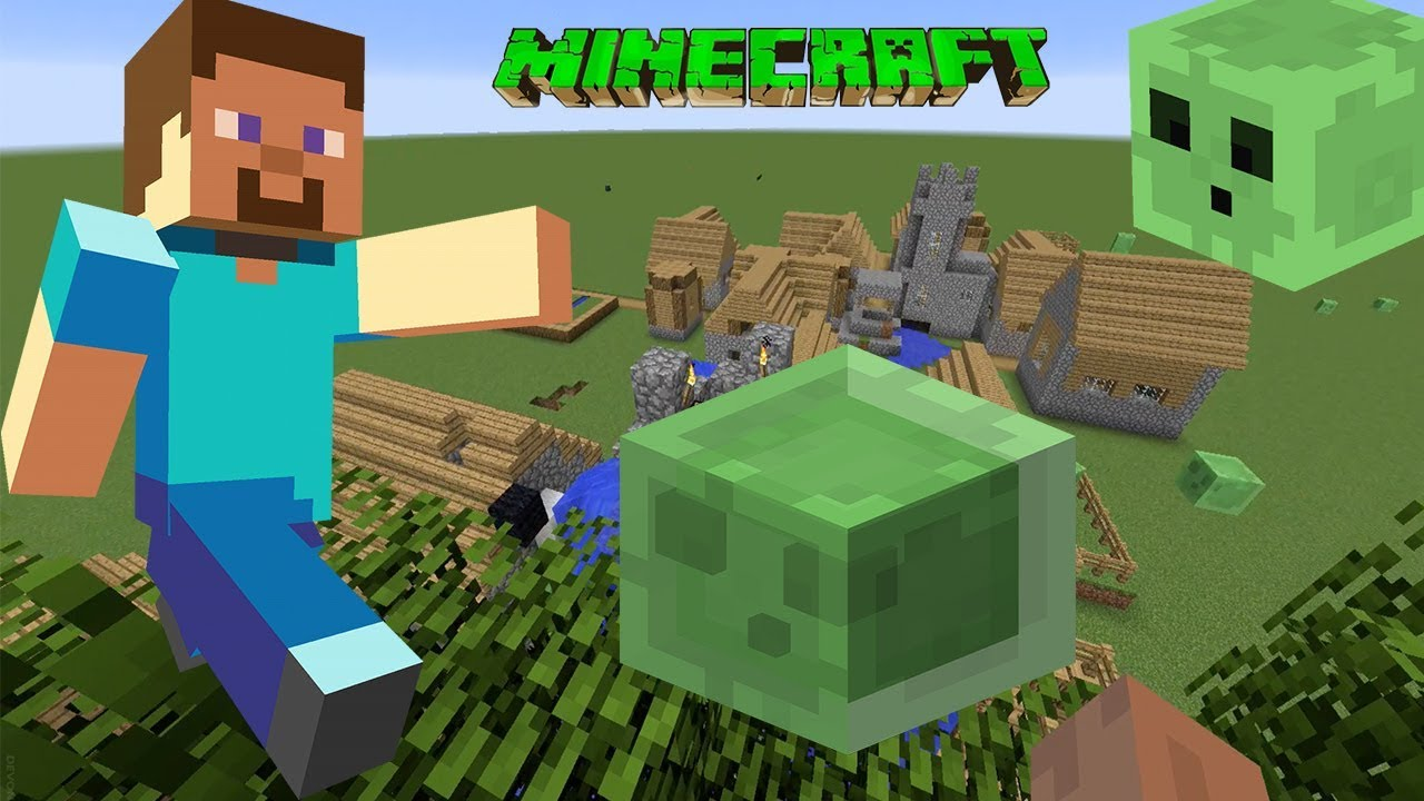 Minecraft gameplay slime attack secret waterfall flat world minecraft gameplay slime attack secret waterfall flat world crafting tools to battle and survive gumiabroncs Images