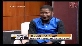"""Mwasuze Mutya: Emboozi y'omuzanyiikirizi Robert Sunday """"Taata Sam"""" thumbnail"""