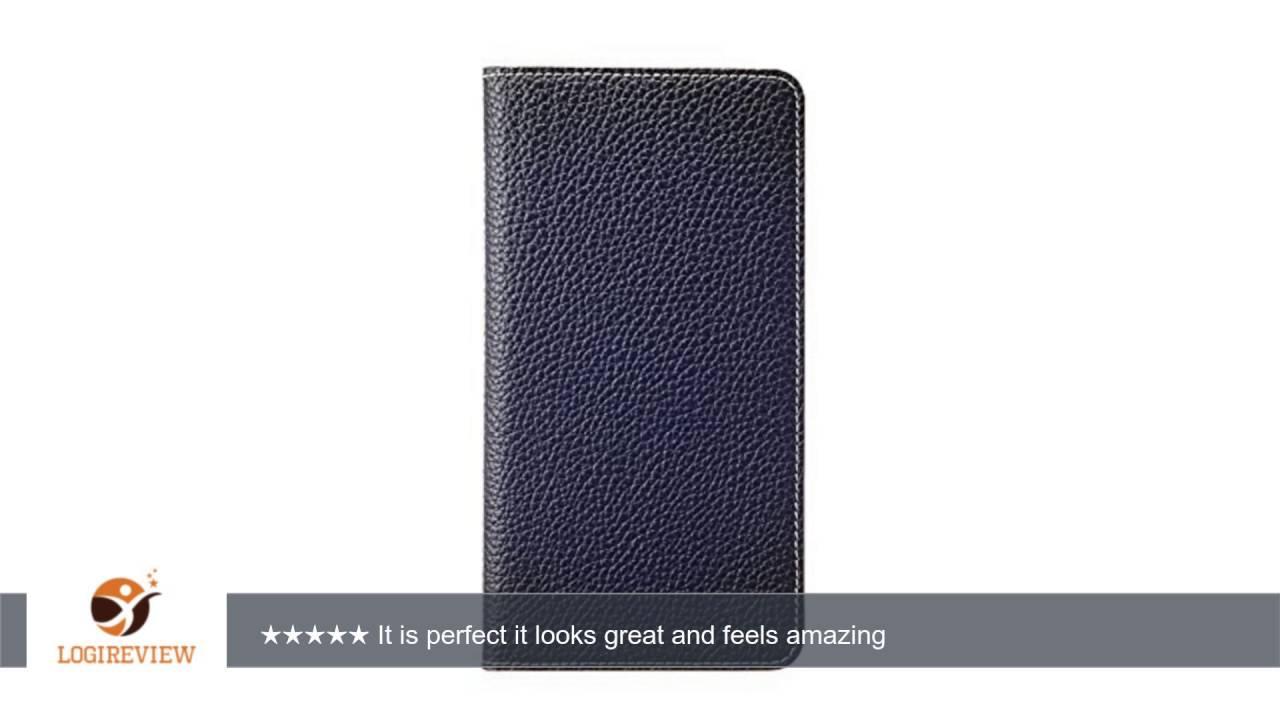 wholesale dealer 491e4 bd064 iPhone 6S Plus/6 Plus Case, [BONAVENTURA] BEST SELLER! Genuine Leather  Wallet Case, Slim Fit Diary