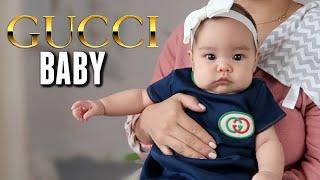 Her First Designer Dress - Gucci Baby! - itsjudyslife