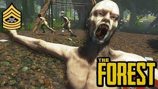 CAVE SPELUNKING | The Forest PC Livestream (1080p 60fps)