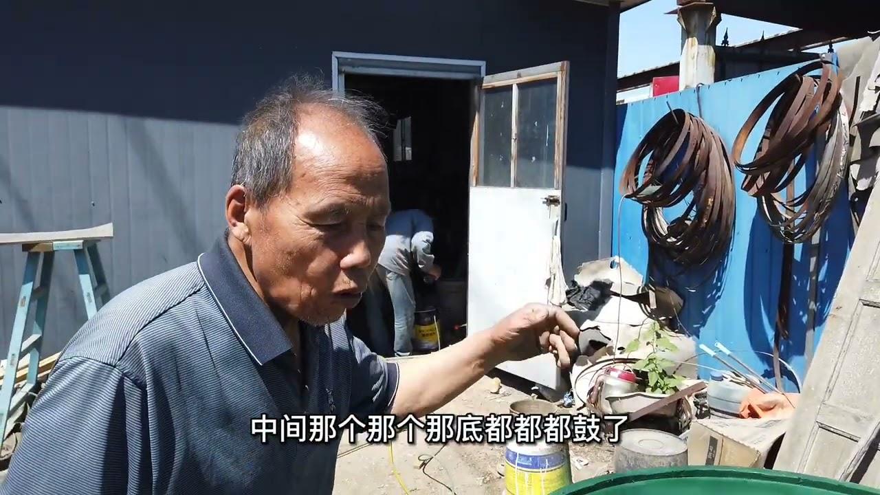 天津老木匠兄弟:传统手工活,木海和大花桶,这样的手艺人不多了