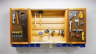 Sliding Door Tool Cabinet