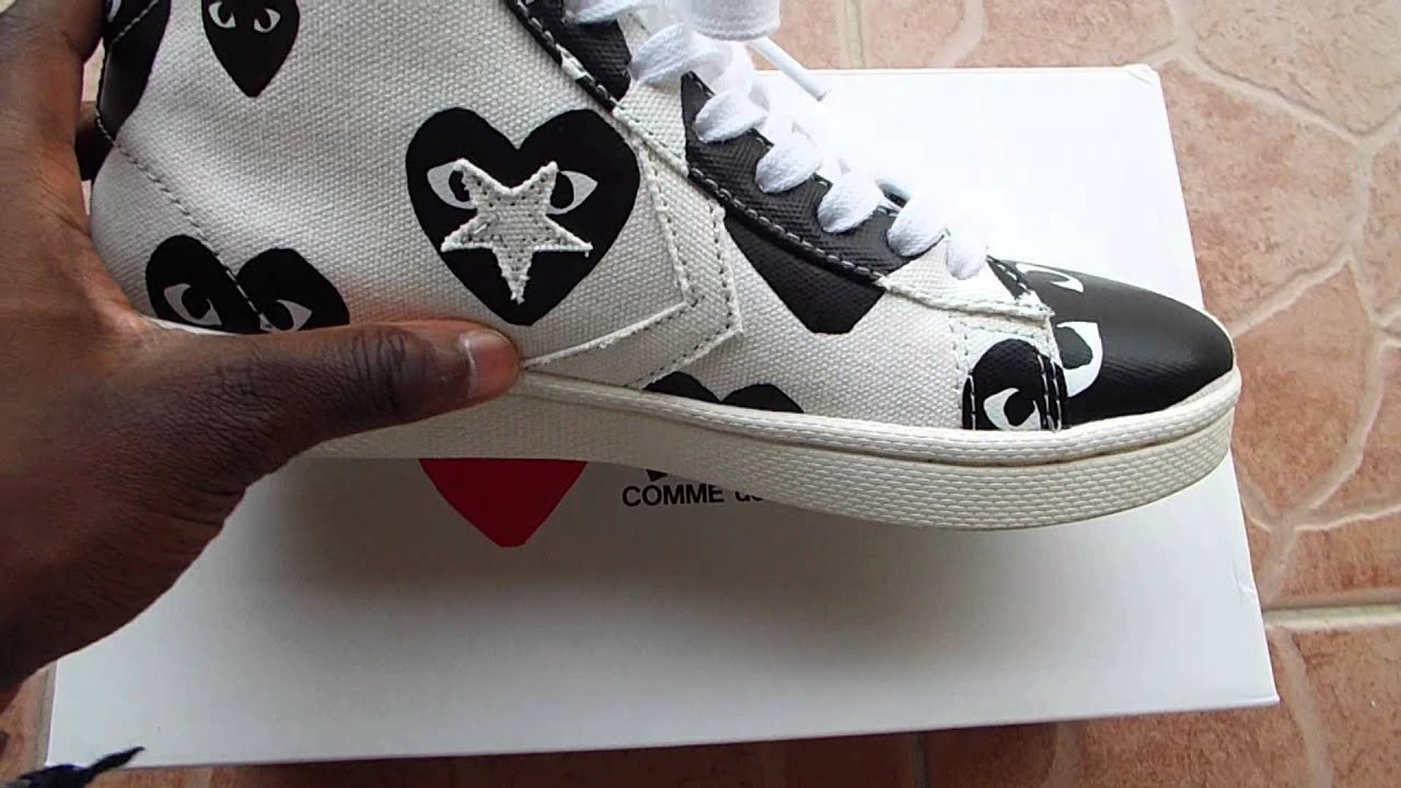 converse cdg pro leather