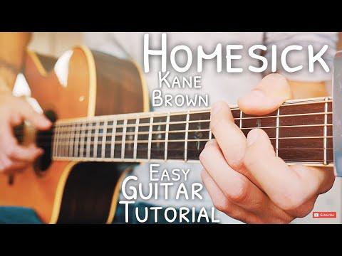 Homesick Kane Brown Guitar Tutorial // Homesick Guitar // Guitar Lesson #574