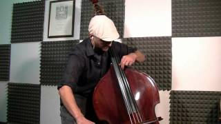 j s bach air on the g string double bass solo
