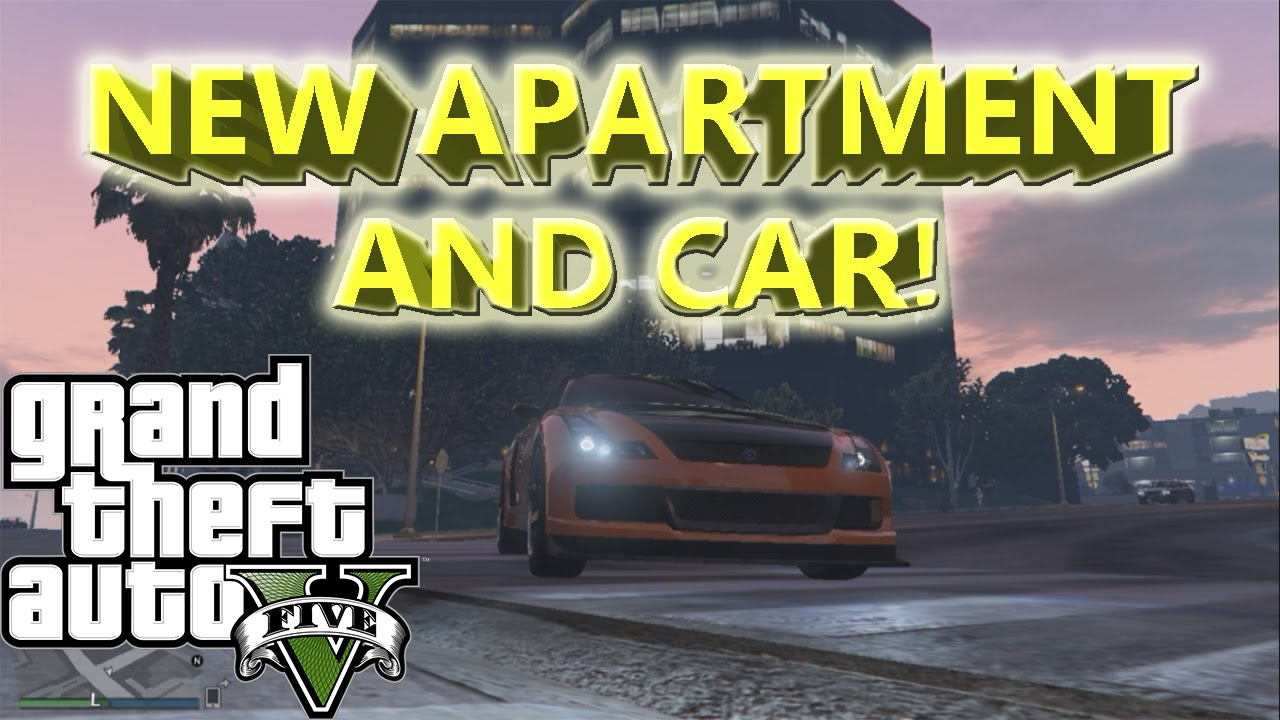 BUYING MY FIRST CAR & APARTMENT IN GTA 5 Online! - YouTube
