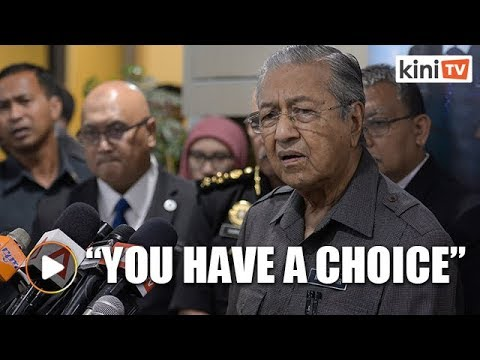 Dr Mahathir: We're not forcing you to ride on motorcycles