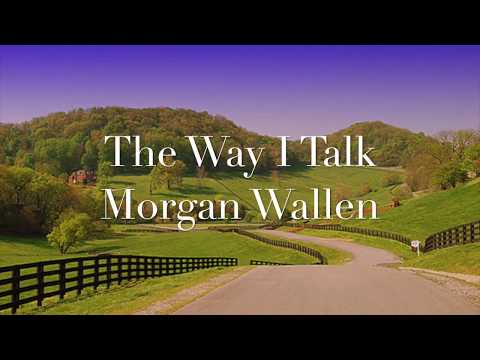 The Way I Talk - Morgan Wallen (Lyrics)
