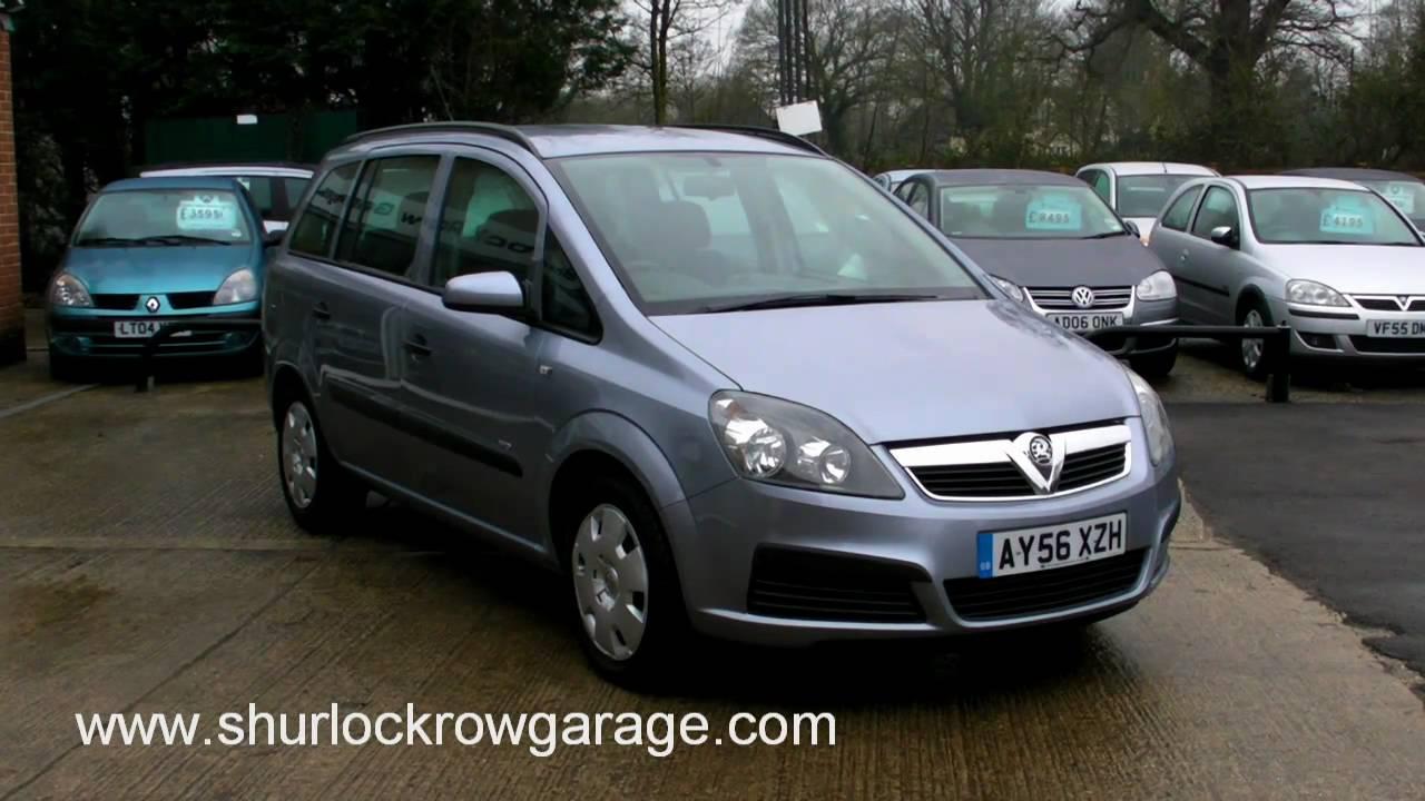 Vauxhall Zafira 1 6 Life Mpv For Sale