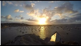 Amazing isle of scilly sun set!