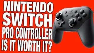 Is the Switch Pro Controller Controller Worth It? - Nintendo Switch Pro Controller Review