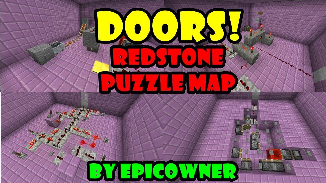 Redstone Puzzle Maps