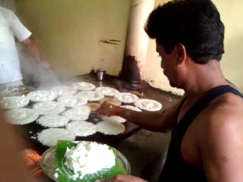 Ravi's 'Benne-Dosa' from Davangere, Karnataka