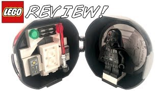 LEGO Star Wars Darth Vader Pod PROMO Set Review! (5005376)