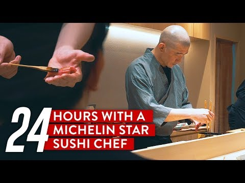 24 Hours With A Michelin Star Sushi Chef: Sushi Kimura
